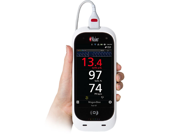 Masimo - Rad-67 Spot-check Pulse CO-Oximeter